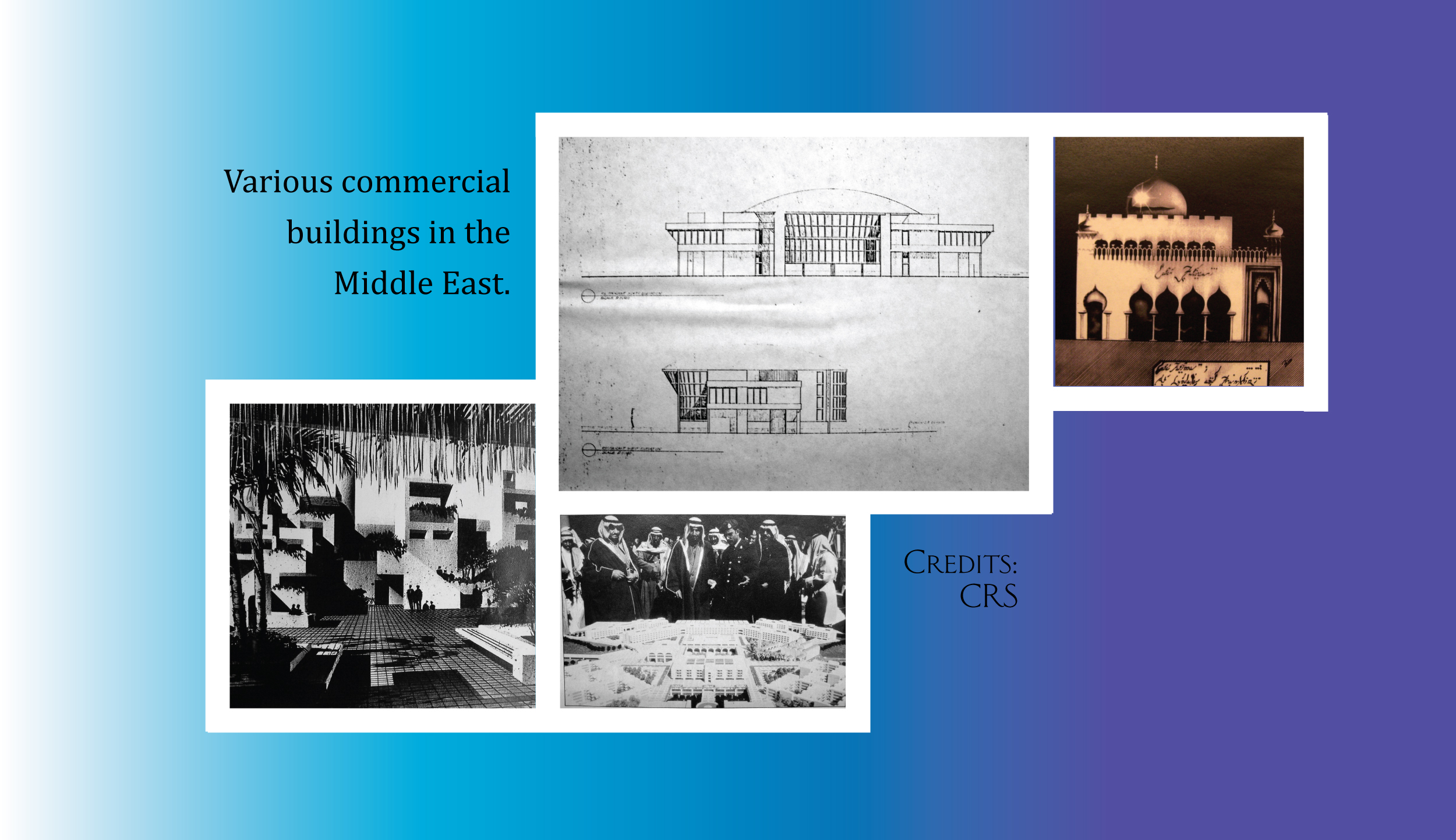Montage 3 Middle East Buildings