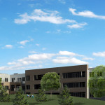 Cedar Shore (Cedar Point) Redevelopment - rear view rendering - rear view rendering