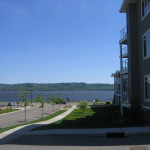 View of Lake Pepin from Villas on Pepin