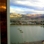 View from the Grand Sierra Resort in Reno, Nevada