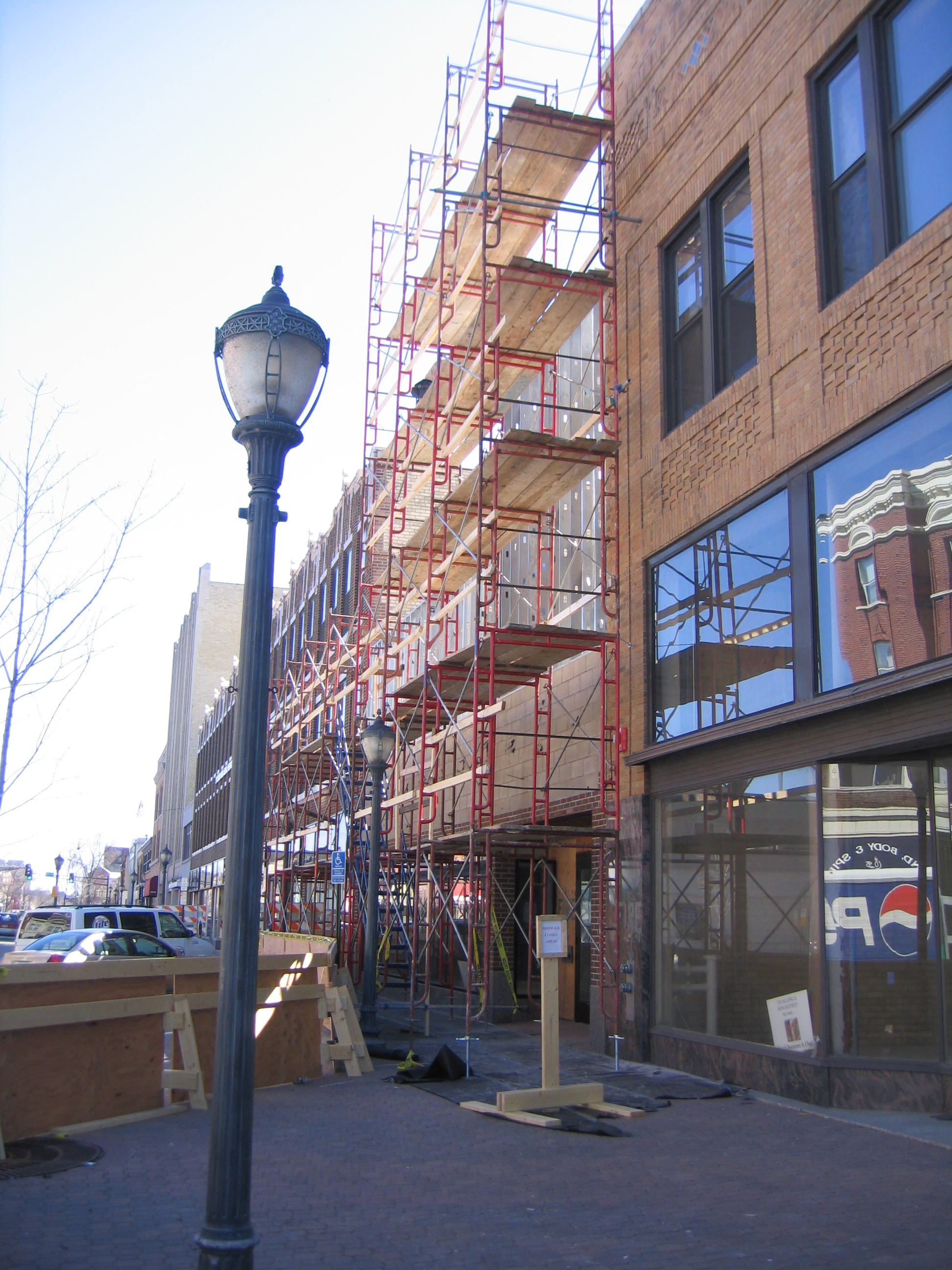 Regency Plaza - exterior construction 1