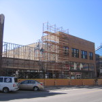 Regency Plaza - exterior construction 3