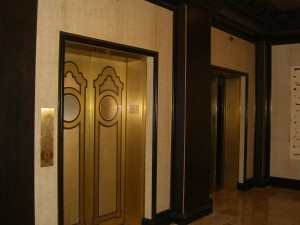 Grand Sierra Resort - Art Deco Elevator Door Design